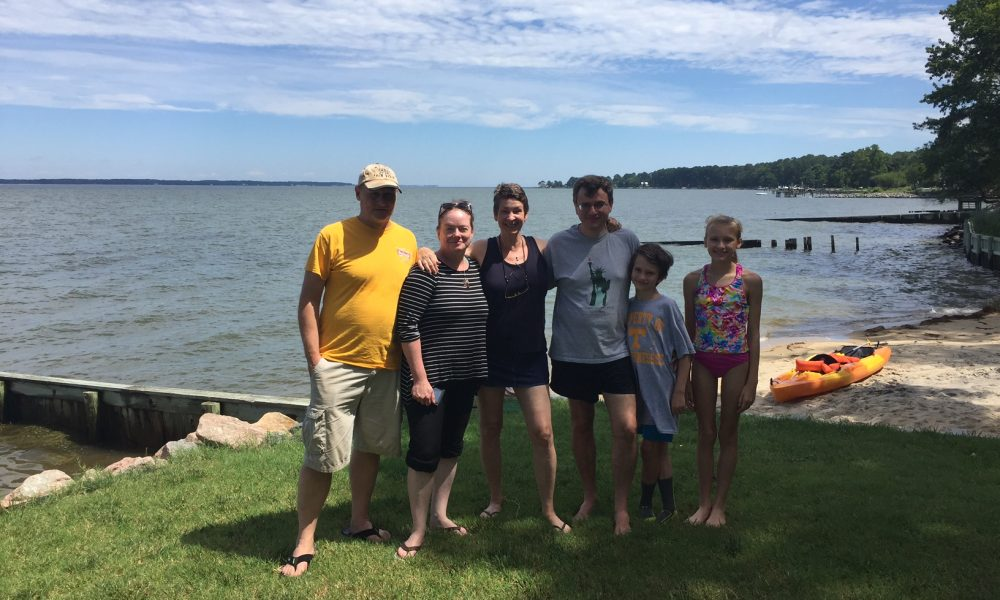 High School Friends, Families Reunite at Cottage